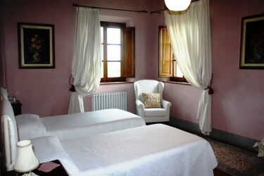 Il Borghino Retreat Centre - Twin room with private bathroom