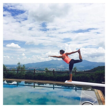 Yoga in Italy Retreat July 2017 Julie Meek