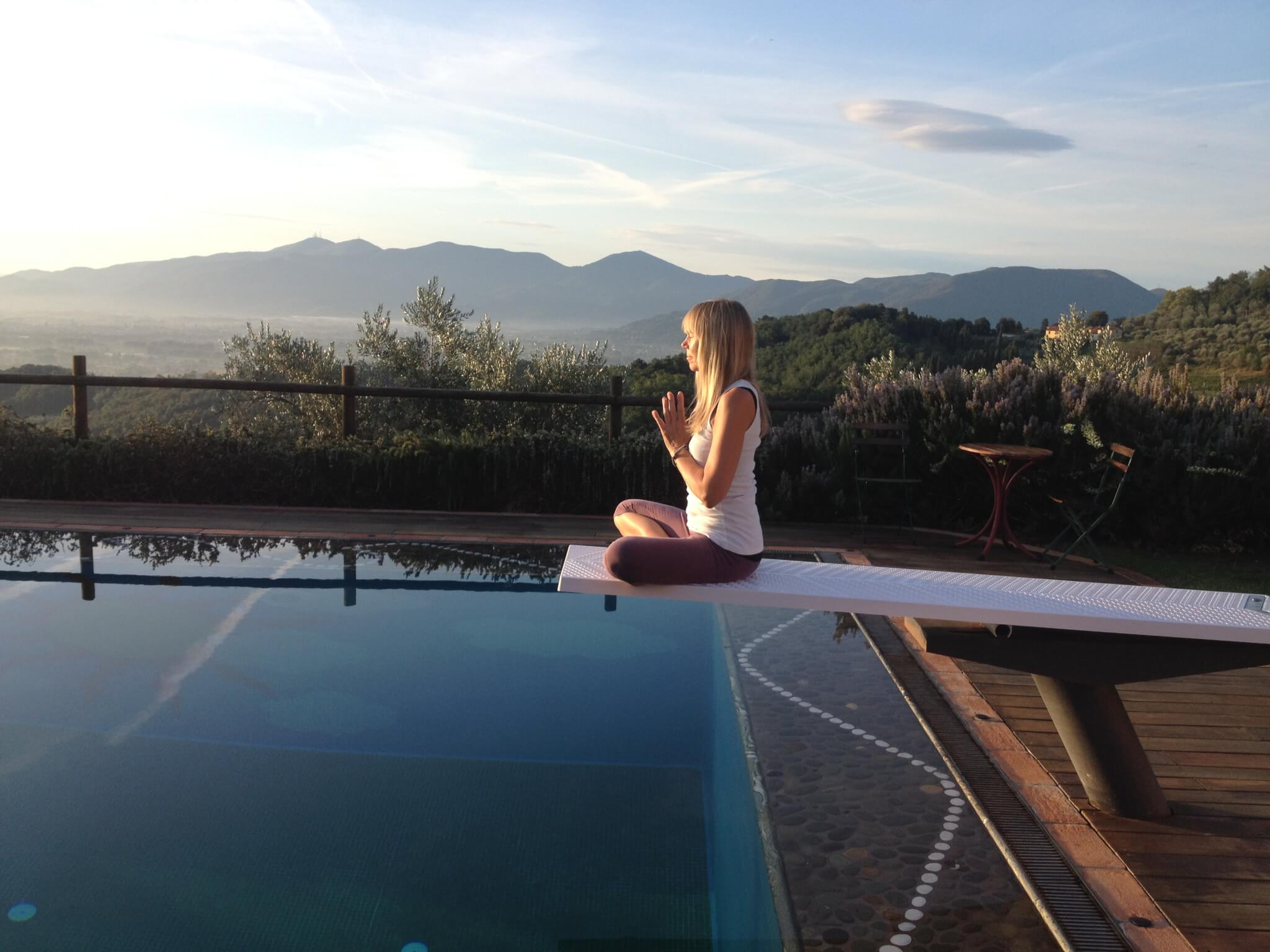 Yoga in Italy - Tuscany Retreat with Dorothy Price September 2017