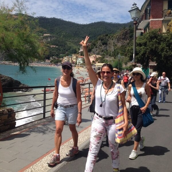 Yoga in Italy with Micheline Berry in Cinque Terre