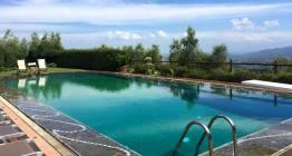 Yoga in Italy Retreats Il Borghino pool