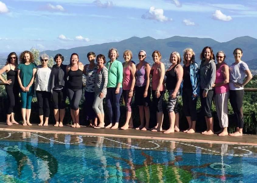 Yoga Holiday September 2017 Savonn Wyland