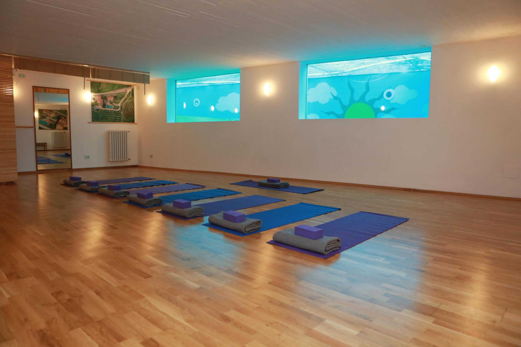 Il Borghino Tetreat Centre - Yoga Room