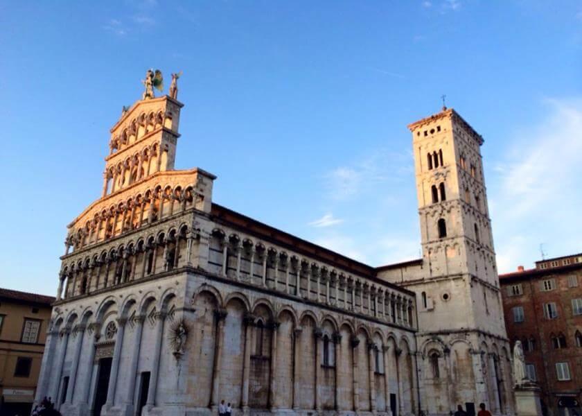 Lucca Excursion Piazza San Michele