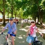 Yoga in Italy Excursion - Guided Bike & Walking tour of Lucca. Yoga Retreat Italy