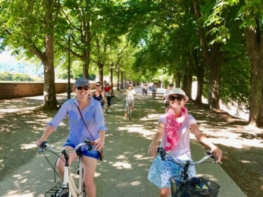 Yoga in Italy Excursion - Guided Bike & Walking tour of Lucca