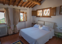 Il Borghino retreat centre - twin bed or double room in the house called Il Melograno - Verde