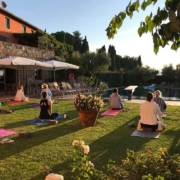 Afternoon meditation yoga retreat italy