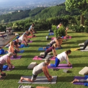 Outdoor Yoga at Il Borghino