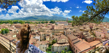 Lucca excursion - view from Torre Guinigi