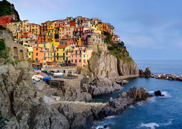 Yoga in Italy Excursion - Cinque Terre