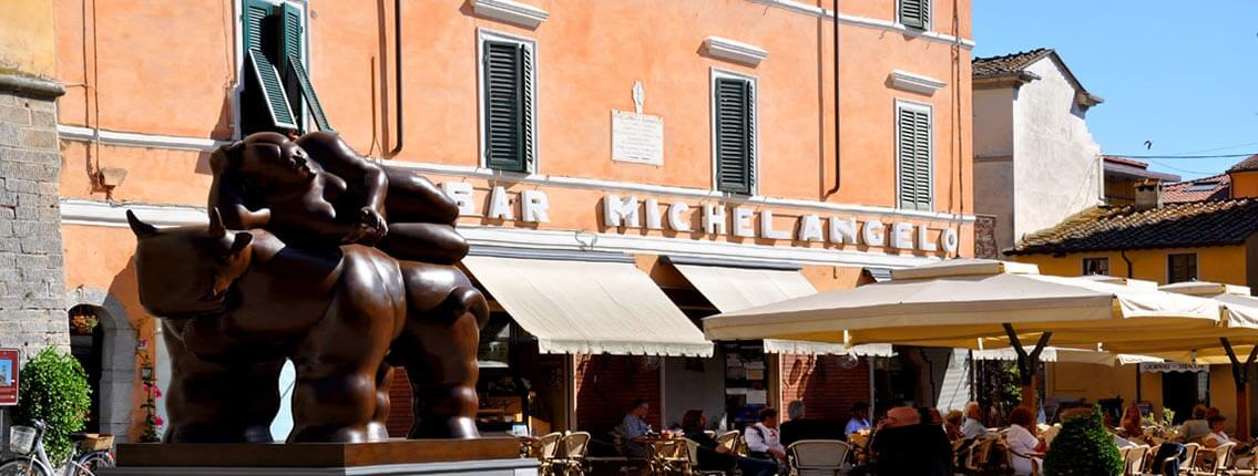 Yoga in Italy - Excursion to Pietrasanta Artists Village